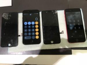 iphone 画面割れ交換修理