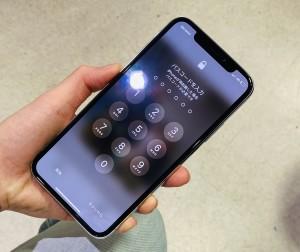 iphoneX スマホガラスコーティング