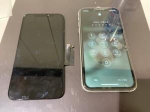 iphoneXR 液晶故障修理