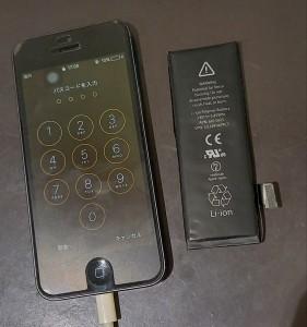 iphone5 バッテリー 劣化