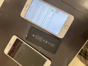 iPhone8plus 画面修理 バッテリー交換