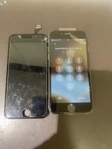 アイフォン6 画面液晶交換修理