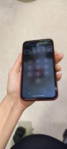iphoneXR スマホガラスコーティング