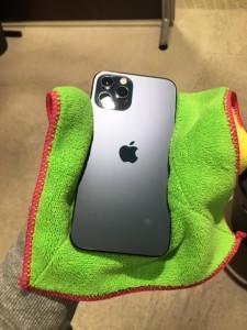 iphone12ProMax スマホガラスコーティング