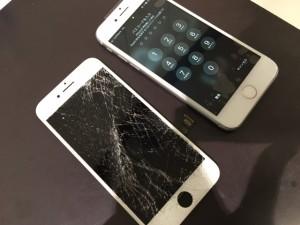 iphone8 画面割れ 液晶故障修理