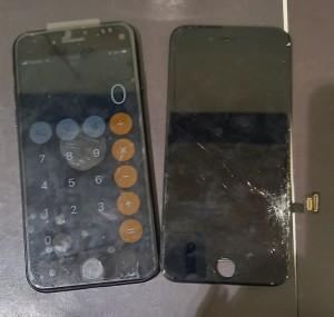 iphoneSE2 画面交換
