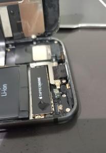 iphone 水没復旧