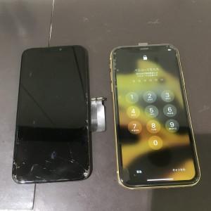 アイフォンXR 画面修理