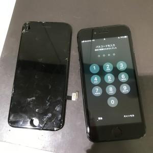 アイフォン8 画面液晶修理