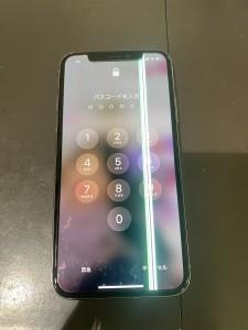 アイフォンX 画面修理