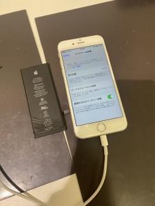 iPhone6s 電池パック交換