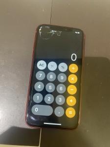 iPhoneXR 画面修理