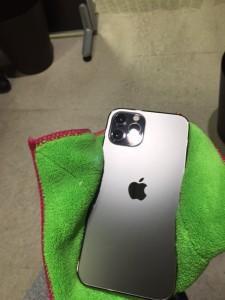 iphone12ProMax シマホガラスコーティング
