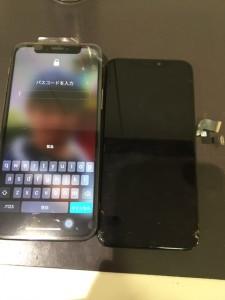 iphoneX 液晶故障修理