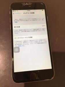 iphone6 バッテリー交換