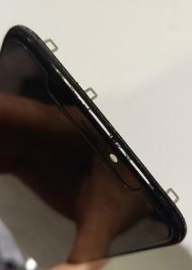 iphone 画面 浮き