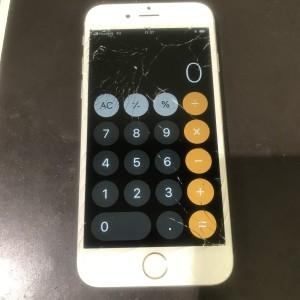 アイフォン6s 画面破損