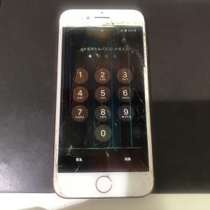 アイフォン7 画面破損