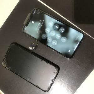 iPhoneX 画面液晶修理