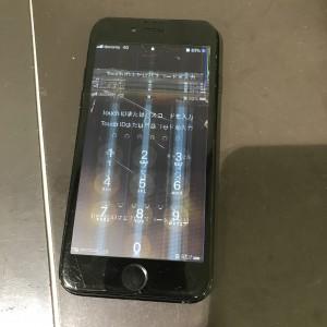 アイフォン7 画面液晶故障