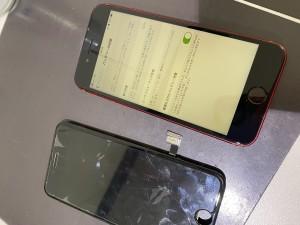 iPhone8 画面修理 バッテリー交換