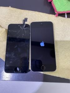 アイフォン5s 画面修理