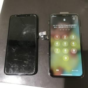アイフォンXR 画面液晶修理