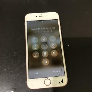 iPhone6s ディスプレイ割れ