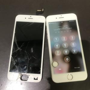 アイフォン6s 画面修理 各物理ボタン修理