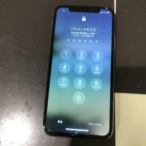 iPhoneX 画面液晶故障