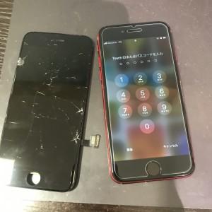 アイフォンSE2 ディスプレイ修理