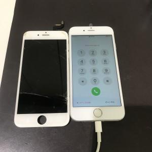 アイフォン6s 画面液晶交換修理