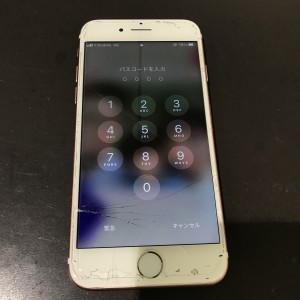 アイフォン7 画面割れ