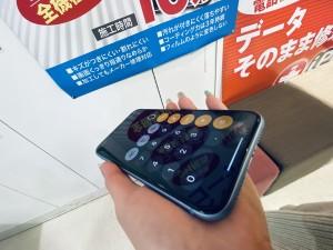 iPhoneXR ガラスコーティング