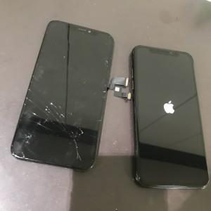 アイフォンXS 画面修理