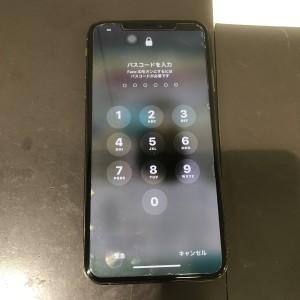 iPhoneXS Max 画面割れ