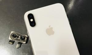 アイフォンXS カメラとレンズ周囲完了