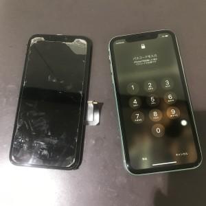 アイフォン11 画面液晶修理