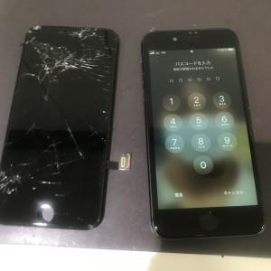 アイフォン8 画面修理