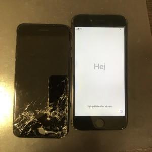 アイフォン8 ディスプレイ交換修理