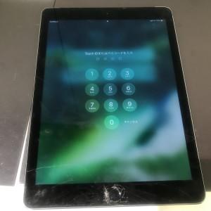iPadAir2 フロントパネル破損