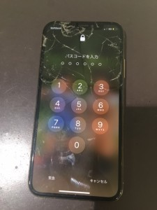 iphoneXS 液晶故障修理