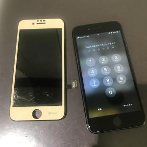 iPhone7 画面修理かんりょう!