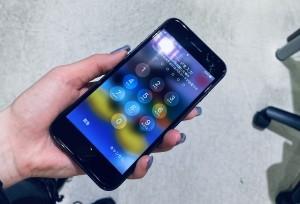 アイフォン8 スマホガラスコーティング