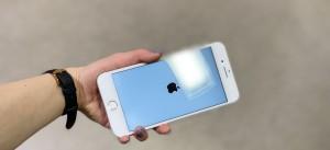 iPhone8PLUS スマホガラスコーティング