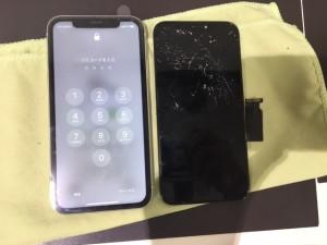 アイフォン11 画面割れ交換修理