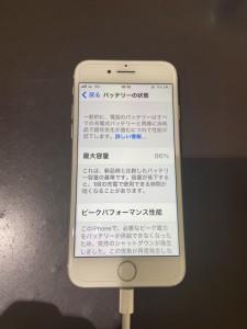 iphone8 電池パック交換
