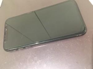 iPhoneXS 水没復旧作業