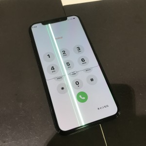 アイフォンX 液晶故障