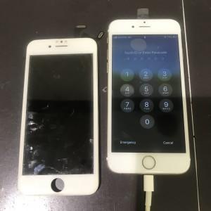 アイフォン6s ディスプレイ交換修理